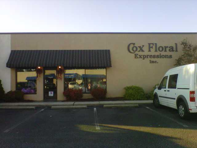 About Cox Floral Expressions - Greenville, NC Florist