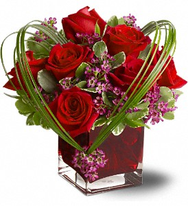 Teleflora's Sweet Thoughts Bouquet with Red Roses in Dearborn Heights MI, English Gardens Florist