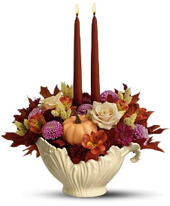 Lenox Sauce Server Bouquet by Teleflora in Medford MA, Capelo's Floral Design