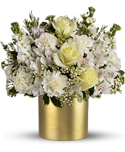 Teleflora's Champagne & Gold in Hamilton OH, Gray The Florist, Inc.