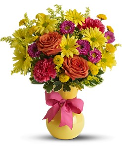 Teleflora's Hooray-diant! in Abington MA, The Hutcheon's Flower Co, Inc.