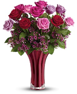 Teleflora's Ruby Nights Bouquet in Oklahoma City OK, Array of Flowers & Gifts