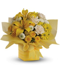 Teleflora's Sunshine Surprise in Bowmanville ON, Bev's Flowers