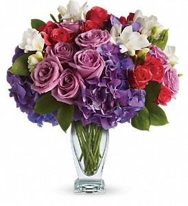 Teleflora's Rhapsody in Purple in Thornhill ON, Wisteria Floral Design