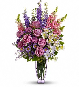 Steal The Show by Teleflora with Roses in Santa Fe NM, Barton's Flowers