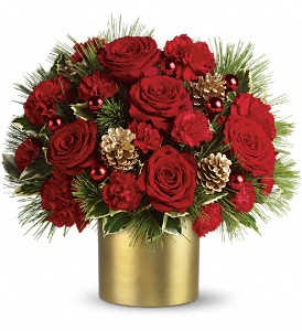 Teleflora's Holiday Elegance in Weymouth MA, Bra Wey Florist