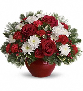 Christmas Treasure in San Diego CA, Eden Flowers & Gifts Inc.