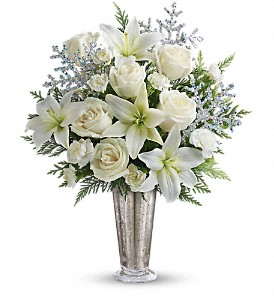 Teleflora's Winter Glow in Lewiston ME, Val's Flower Boutique, Inc.