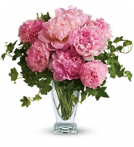 Teleflora's Perfect Peonies in New York NY, Fellan Florists Floral Galleria