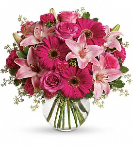 A Little Pink Me Up in Tuscaloosa AL, Pat's Florist & Gourmet Baskets, Inc.