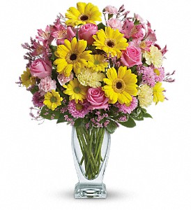 Teleflora's Dazzling Day Bouquet in Jamestown NY, Girton's Flowers & Gifts, Inc.
