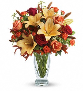 Teleflora's Fall Fantasia in Grand Falls/Sault NB, Grand Falls Florist LTD