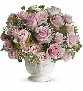 Teleflora's Parisian Pinks with Roses in Vancouver BC, Davie Flowers