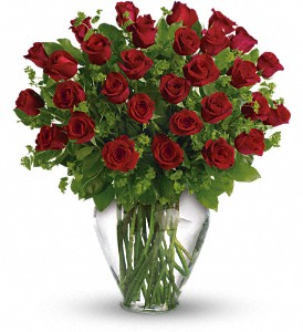 My Perfect Love - Long Stemmed Red Roses in Williston ND, Country Floral