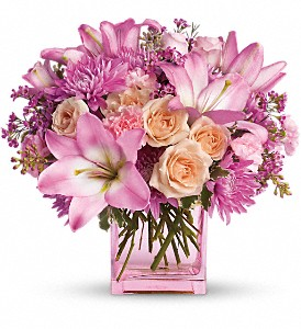 Teleflora's Possibly Pink in Hollywood FL, Al's Florist & Gifts