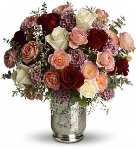 Teleflora's Always Yours Bouquet in New York NY, Fellan Florists Floral Galleria