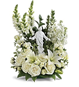 Teleflora's Garden of Serenity Bouquet in Oklahoma City OK, Array of Flowers & Gifts