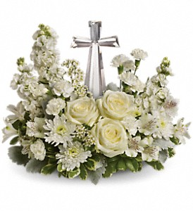 Teleflora's Divine Peace Bouquet in Siloam Springs AR, Siloam Flowers & Gifts, Inc.