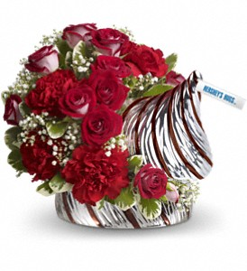 HERSHEY'S HUGS Bouquet by Teleflora in Royal Oak MI, Rangers Floral Garden