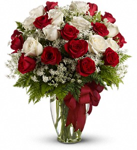 Love's Divine Bouquet - Long Stemmed Roses in Dayville CT, The Sunshine Shop, Inc.