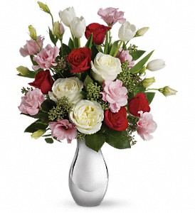 Teleflora's Love Forever Bouquet with Red Roses in Brooklyn NY, Artistry In Flowers