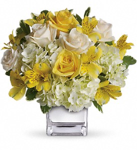 Teleflora's Sweetest Sunrise Bouquet in West Los Angeles CA, Sharon Flower Design