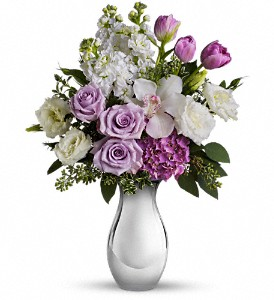 Teleflora's Breathless Bouquet in Chicago IL, Belmonte's Florist