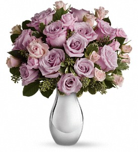 Teleflora's Roses and Moonlight Bouquet in Murrieta CA, Michael's Flower Girl