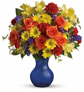 Teleflora's Three Cheers for You! in Hilton NY, Justice Flower Shop