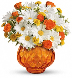 Teleflora's Rise and Sunshine in East Syracuse NY, Whistlestop Florist Inc