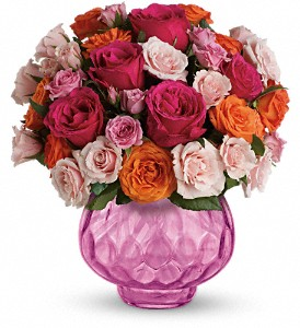 Teleflora's Sweet Fire Bouquet with Roses in Orlando FL, Harry's Famous Flowers