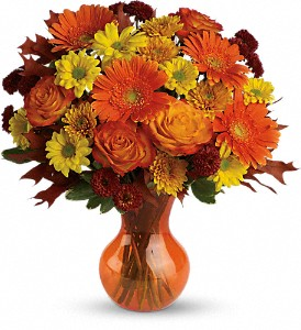 Teleflora's Forever Fall in Charleston SC, Bird's Nest Florist & Gifts