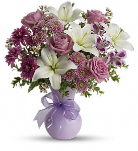 Teleflora's Precious in Purple in Abilene TX, Philpott Florist & Greenhouses
