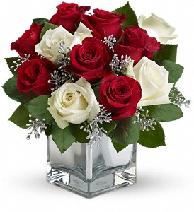 Teleflora's Snowy Night Bouquet in Gahanna OH, Rees Flowers & Gifts, Inc.
