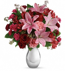 Teleflora's Moonlight Kiss Bouquet in Worcester MA, Herbert Berg Florist, Inc.
