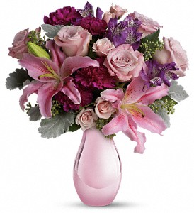 Enchanting Pinks by Teleflora in St. Louis Park MN, Linsk Flowers