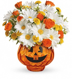 Happy Halloween by Teleflora in Woodbridge NJ, Floral Expressions