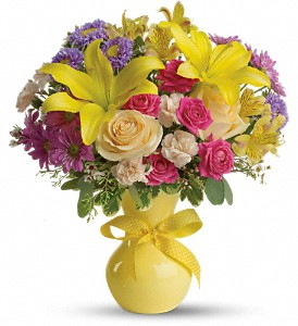 Teleflora's Color It Happy in Hales Corners WI, Barb's Green House Florist
