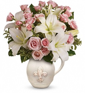 Teleflora's Fleur-de-Love Bouquet in Bowmanville ON, Bev's Flowers