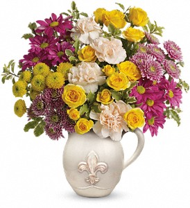 Teleflora's French Fancy Bouquet in Olean NY, Mandy's Flowers
