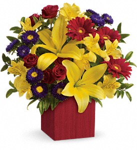 Teleflora's Summer Brights in Bowmanville ON, Bev's Flowers