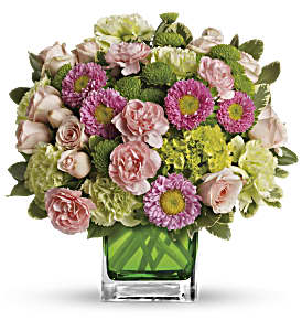 Make Her Day by Teleflora in Dubuque IA, New White Florist