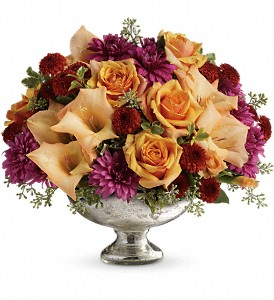 Teleflora's Elegant Traditions Centerpiece in Liverpool NY, Creative Florist