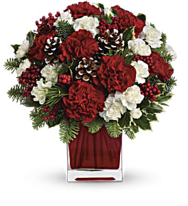 Make Merry by Teleflora in San Clemente CA, Beach City Florist