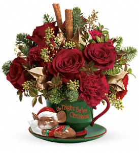 Teleflora's Send a Hug Night Before Christmas in Orlando FL, Elite Floral & Gift Shoppe
