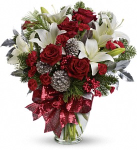 Holiday Enchantment Bouquet in Spring Lake Heights NJ, Wallflowers
