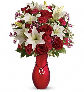 Heartstrings Bouquet by Teleflora in Tampa FL, Moates Florist