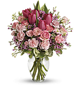 Full Of Love Bouquet in Milford MA, Francis Flowers, Inc.