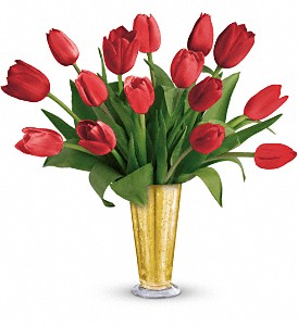 Tempt Me Tulips Bouquet by Teleflora in Eureka MO, Eureka Florist & Gifts