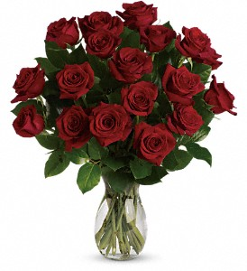 My True Love Bouquet with Long Stemmed Roses in Sacramento CA, Flowers Unlimited